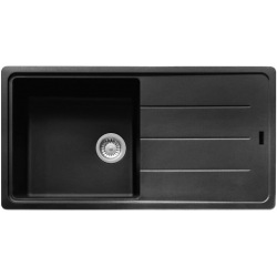 Кухонная мойка Franke BASIS BFG 611-97 Фрагранит/970х500х200/Словакия/Оникс (114.0363.933)