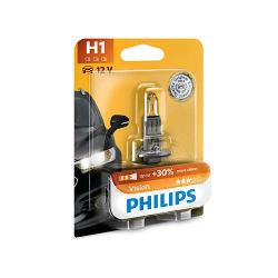 Лампа галогенная Philips H1 Vision, 3200K, 1шт/блистер (12258PRB1)