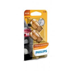 Лампа накаливания Philips WY21W, Vision 2шт/блистер (12071B2)