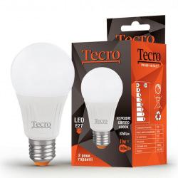 Лампа светодиодная Tecro E27, 11Вт, 4000K, аналог лампы накаливания 100Вт (PRO-A60-11W-4K-E27)