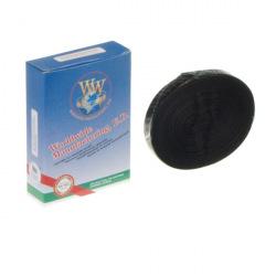 Стрічка фарбуюча WWM 13мм х 20м STD кільце Black (M13.20S)
