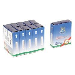 Стрічка фарбуюча WWM 6.35 мм х 5.5 м STD кільце Refill Black ( R6.5.5S5) 5шт