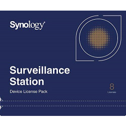 Лицензия Synology Camera License Pack (8 cameras) (DEVICE_LICENSE_(X8))