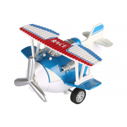 Самолет металлический инерционный Same Toy Aircraft синий  (SY8013AUt-2)