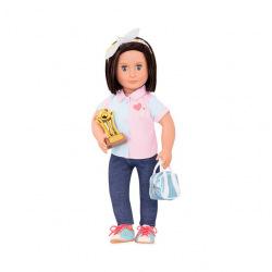 Кукла Our Generation DELUXE Еверли с книгой 46 см  (BD31165AZ)