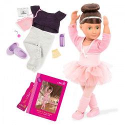 Кукла Our Generation DELUXE Сидней Ли с книгой 46 см  (BD31099ATZ)