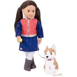 Кукла Our Generation Лесли с собакою 46 см  (BD31201Z)