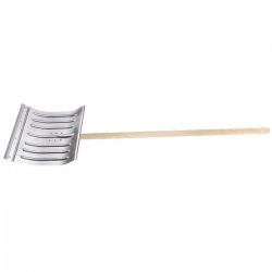 Лопата снігова 430х370х1.5 мм, з держаком (алюміній),  СИБРТЕХ (MIRI61582)