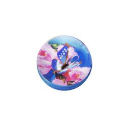 М'ячик-стрибунець goki Метелик синій  (16019G-1)