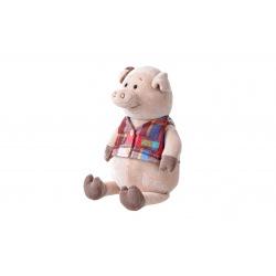Мягкая игрушка Same Toy Поросенок в жилетке 35см  (THT723)