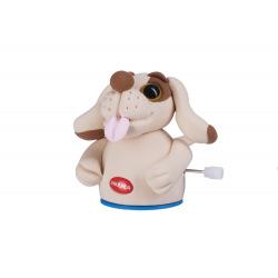Маса для лепки Paulinda Super Dough Circle Baby Собака заводной механизм, коричневая  (PL-081177-6)