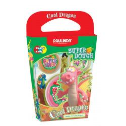 Маса для лепки Paulinda Super Dough Cool Dragon Дракон розовый  (PL-081378-15)