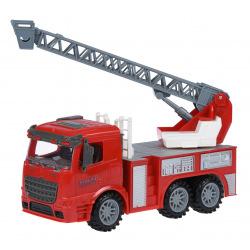 Машинка инерционная Same Toy Truck Пожарная машина с раздвижной леснице  (98-616Ut)
