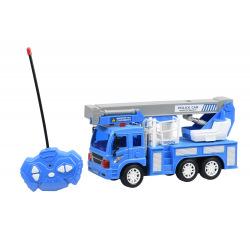 Машинка на р / у Same Toy CITY Кран синій  (F1630Ut)