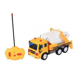 Машинка на р/у Same Toy CITY Грузовик с контейнером желтый (F1606Ut)