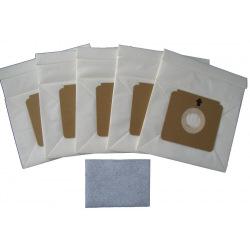 Мешки 5шт и фильтр Gorenje GB2 бумажные (PBU 110/100) (GB2)