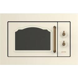 Микроволновая печь Gorenje встраиваемая BM235CLI/ 1100 Вт/23л.гриль/стекл.дверь/слонов.кость/мех.уп (BM235CLI)