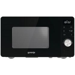 Микроволновая печь Gorenje MO20A3B / 20 л/800 Вт./электронное управление/LED-дисплей/ черная (MO20A3B)