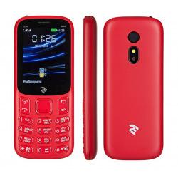 Мобильный телефон 2E E240 2019 DUALSIM Red (680576170019)