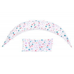 Набор аксессуаров для подушки Nuvita DreamWizard (наволочка, мини-подушка) Белый (NV7101WHITE)