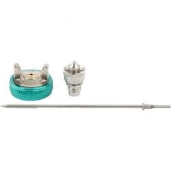 Набір для фарборозпилювача AG970LVLP: сопло 1.0 мм, голка, чашка, Stels (MIRI57346)