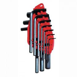 Набор ключей 6-ти гран 10 ед. 1.5-10 мм (блистер) (уп.12) (0-69-253)