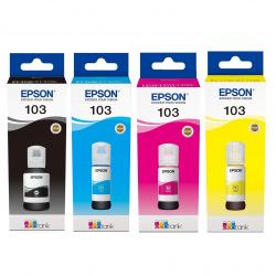 Набір оригінальних чорнил Epson 103 (SET103E)
