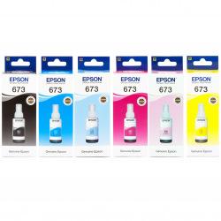 Набір оригінальних чорнила Epson 673 (SET673E)