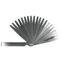Набор щупов измерительных Topex, 0.05 до 1 мм, 20 пластин, шаг 0.05мм (97X272)