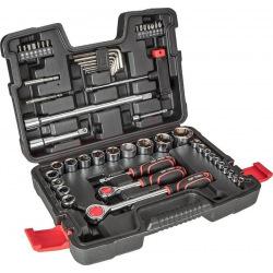 """Набор сменных головок Top Tools 1/4 """", 1/2"""" 53 ед. (38D530)"""