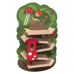 Настенная Игрушка Oribel Veritiplay Приключения на дереве  (OR815-90001)