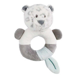 Погремушка-кольцо Nattou леопард Лея  (963237)