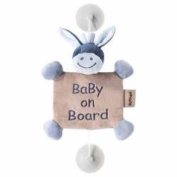 Игрушка Nattou ребенок на борту на присосках ослик Алекс (321341)