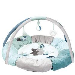 Коврик развивающий с подушками та дугами Nattou Джек, Юлий и Нестор  (843270)