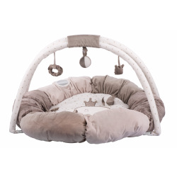 Коврик развивающий с подушками та дугами Nattou Макс, Ноа и Том  (777322)
