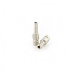 """Ніпель універсальний швидкознімний (""""папа"""") зі штуцером """"ялинка"""" під шланг  8 мм, 2 шт,  Stels (MIRI57061)"""