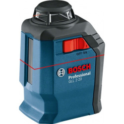 Нивелир Bosch лазерный GLL 2-20, до 20 м (0.601.063.J00)