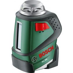 Нивелир Bosch лазерный PLL 360 с прямыми и крестообразными линиями (0.603.663.020)