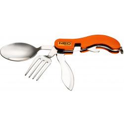 Нож Neo складной туристический, оранжевый цвет (63-027)