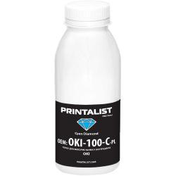 Тонер PRINTALIST для OKI універсальний 100г Cyan (Синій) (OKI-100-C-PL)