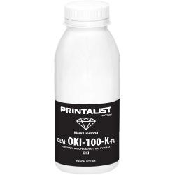 Тонер PRINTALIST для OKI універсальний 100г Black (Чорний) (OKI-100-K-PL)