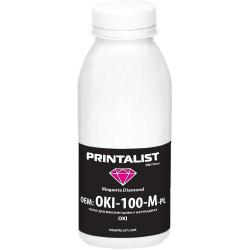 Тонер PRINTALIST для OKI універсальний 100г Magenta (Червоний) (OKI-100-M-PL)
