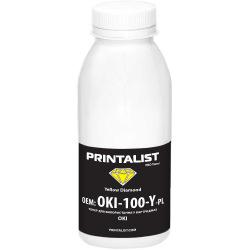 Тонер PRINTALIST для OKI універсальний 100г Yellow (Жовтий) (OKI-100-Y-PL)