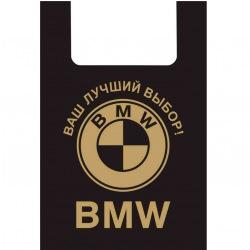 Пакет BMW черний  (B.WS.BMW) (цена за 1шт, отгрузка кратно 100шт)
