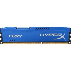 Оперативная память для ПК HyperX DDR3 1866 8GB KIT (4GBx2) 1.5V HyperX Fury Blue (HX318C10FK2/8)