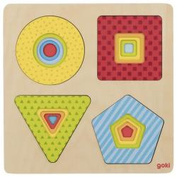 Пазл багатошаровий goki Геометрические фигури (57705G)