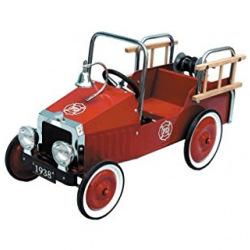 Педальна машинка goki Пожежна машина  (14069)