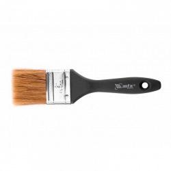 """Пензель плоский """"Євро""""  2"""", натуральна щетина, пластмасова ручка,  MTX (MIRI830639)"""