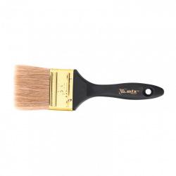 "Пензель плоский ""Профі""  2.5"", натуральна щетина, пластмасова ручка,  MTX (MIRI831639)"