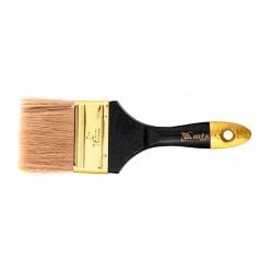 """Пензель плоский """"Профі""""  3"""", натуральна щетина, дерев'яна ручка,  MTX (MIRI831549)"""